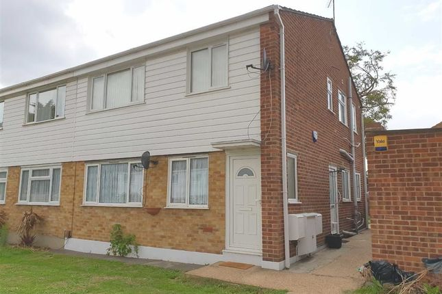 Thumbnail Maisonette for sale in Milford Close, Abbey Wood, London