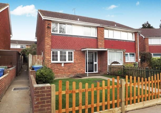 Thumbnail Semi-detached house for sale in Coombe Drive, Sittingbourne, Kent