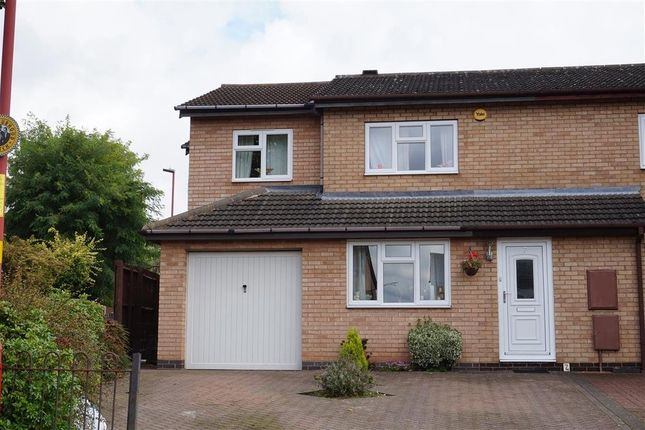 Thumbnail End terrace house for sale in Talbot Close, New Oscott, Birmingham