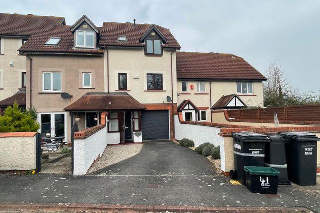 Thumbnail Town house to rent in Bradford Close, Taunton