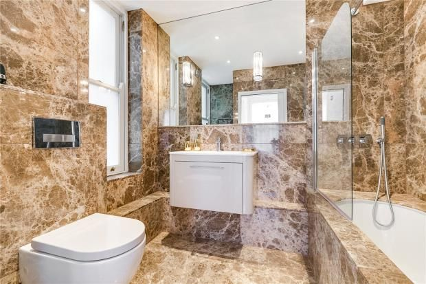 Bathroom of Park Mansions, 141 Knightsbridge, London SW1X
