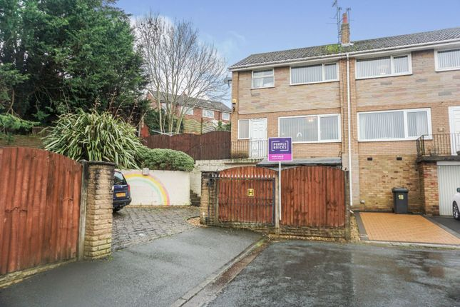 Thumbnail Semi-detached house for sale in Laxey Grove, Preston