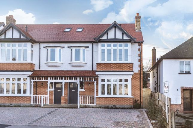 Thumbnail Semi-detached house for sale in Hare Lane, Claygate, Esher