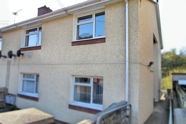 Thumbnail Flat for sale in Curwen Close, Pontrhydyfen, Port Talbot, West Glamorgan.