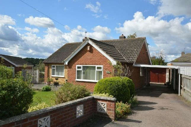 Thumbnail Detached bungalow for sale in Carey Road, Huncote, Leicester