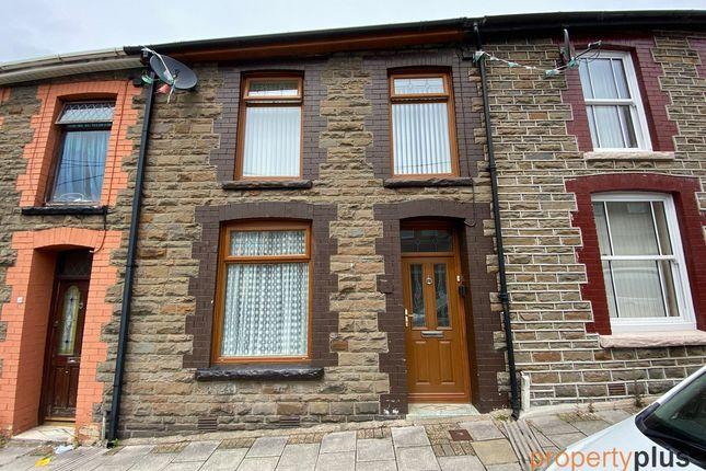Thumbnail Terraced house for sale in Bronllwyn Road Pentre -, Pentre