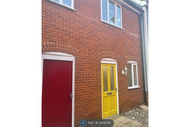 2 bed terraced house to rent in Thoroughfare Yard, Norwich NR3