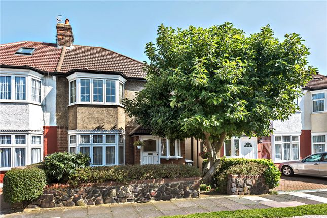Thumbnail Semi-detached house for sale in River Avenue, Palmers Green, London