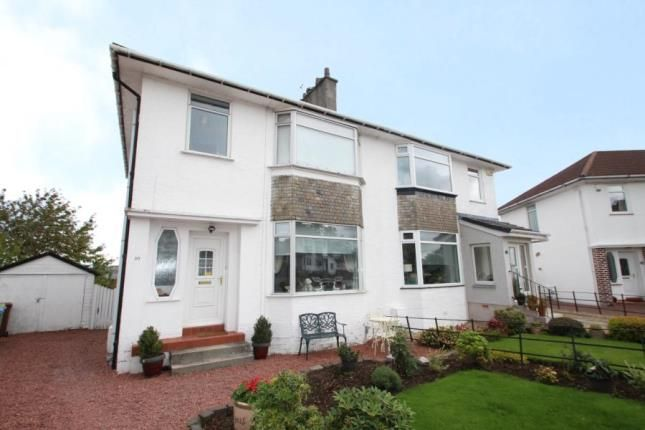 Thumbnail Semi-detached house for sale in Woodbank Crescent, Clarkston, East Renfrewshire