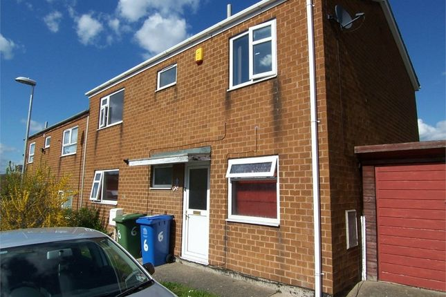Thumbnail Semi-detached house to rent in Brailsford Court, Mansfield