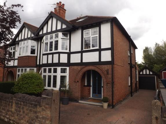 Thumbnail Semi-detached house for sale in Selby Road, West Bridgford, Nottingham, Nottinghamshire