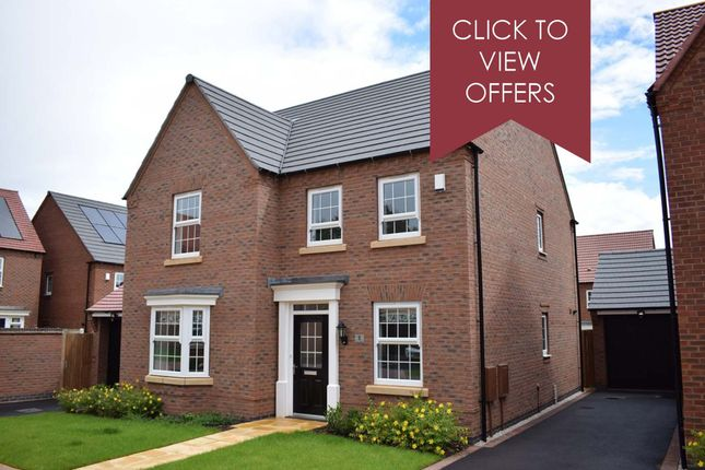 "Thumbnail Detached house for sale in ""Holden"" at Allendale Road, Loughborough"