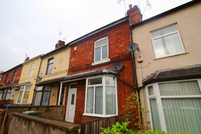 Thumbnail Terraced house to rent in Victoria Street, Mansfield