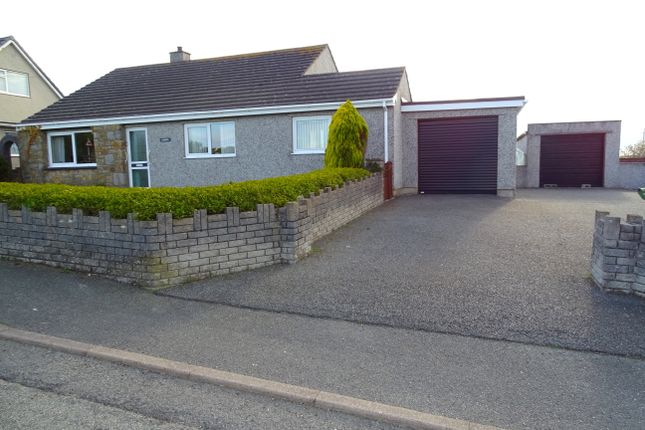Thumbnail Detached bungalow for sale in Rhosybol, Ynys Mon