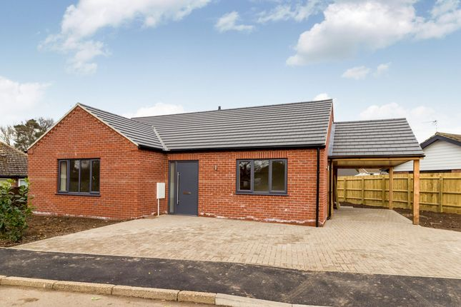 Thumbnail Detached bungalow for sale in Nursery Close, South Wootton, King's Lynn
