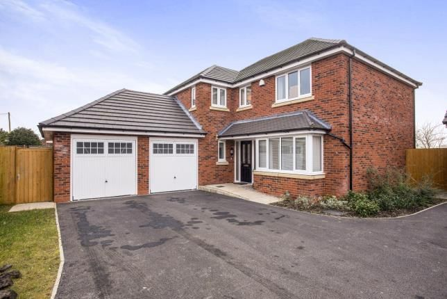 Thumbnail Detached house for sale in Murray Avenue, Farington Moss, Leyland, Preston