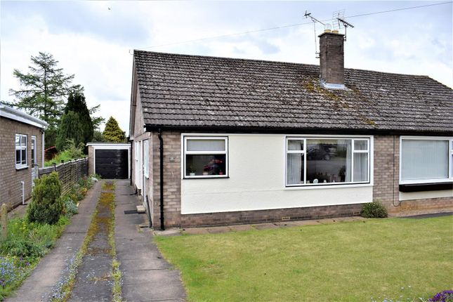 Thumbnail Semi-detached bungalow for sale in St. Joans Drive, Scawby, Brigg