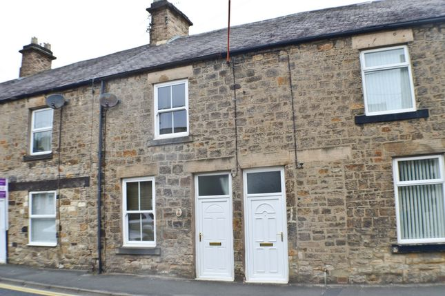 Thumbnail Terraced house to rent in West Road, Prudhoe