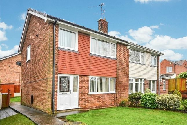 Thumbnail Semi-detached house for sale in Abbotts Croft, Mansfield, Nottinghamshire