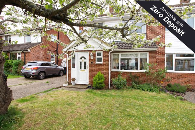 Thumbnail Semi-detached house to rent in Orchard Avenue, Sonning Common