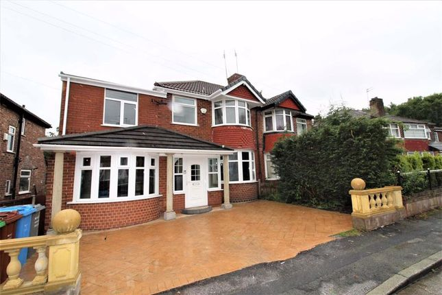 Thumbnail Semi-detached house to rent in Carr Bank Avenue, Manchester