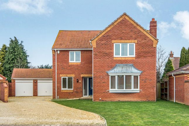 Thumbnail Detached house to rent in Foxwood, Cuttons Corner, Hemblington