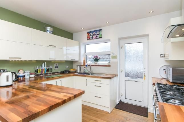Kitchen of The Brae, Prestatyn, Denbighshire, . LL19