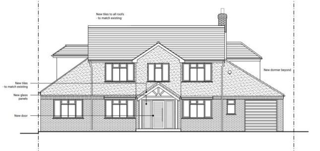 Front Elevation of Claygate, Esher, Surrey KT10