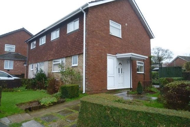 Thumbnail Semi-detached house to rent in Narberth Crescent, Llanyravon, Cwmbran
