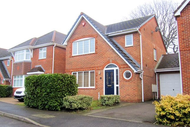 Thumbnail Link-detached house for sale in Branewick Close, Fareham