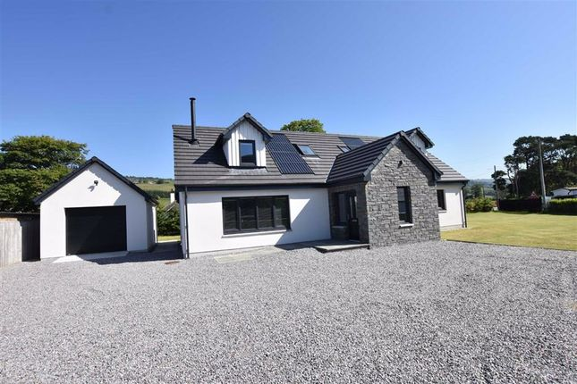 Thumbnail Detached house for sale in Millnain Croft, Strathpeffer, Ross-Shire