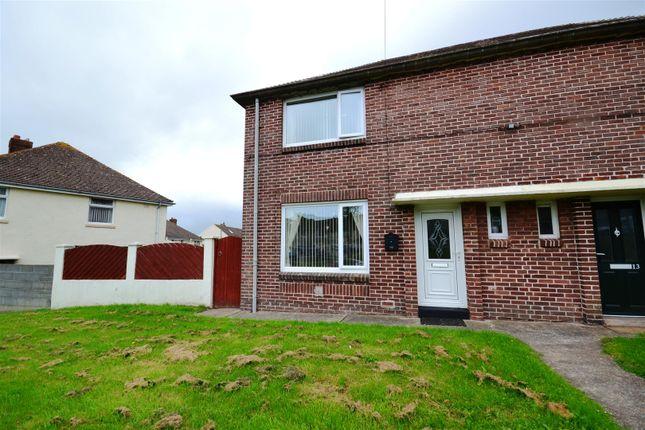 Thumbnail Semi-detached house for sale in Gelliswick Road, Hakin, Milford Haven
