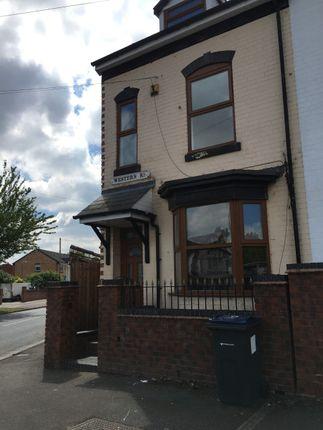 Thumbnail Semi-detached house to rent in Western Road, Erdington
