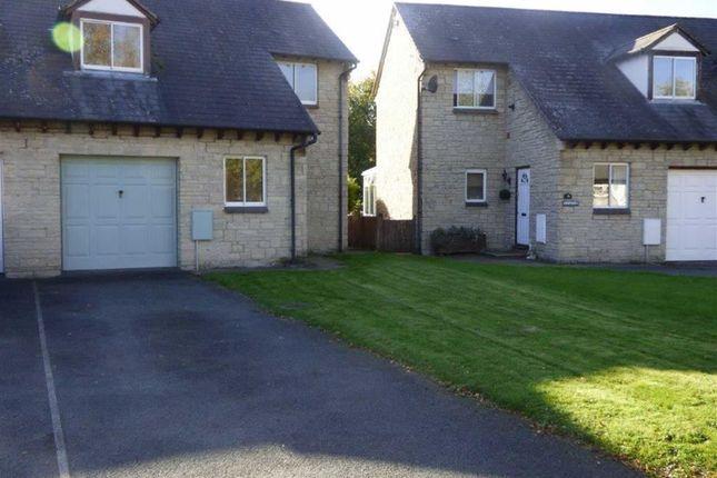 Thumbnail Semi-detached house to rent in Maes Yr Afon, Llanrhaeadr Ym Mochnant, Oswestry