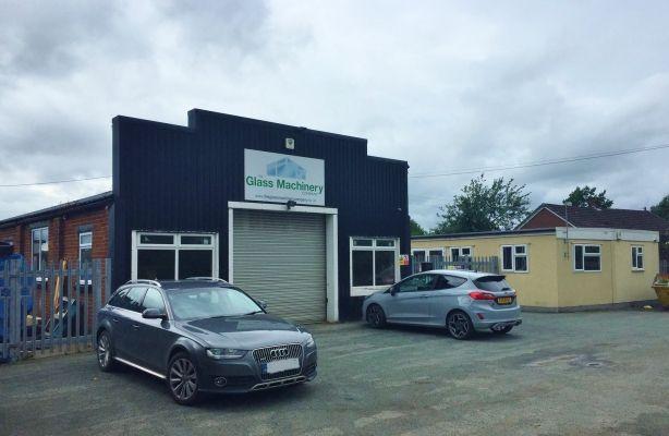 Thumbnail Warehouse for sale in Wherley Rough Garage, Lower Heath, Whitchurch, Shropshire