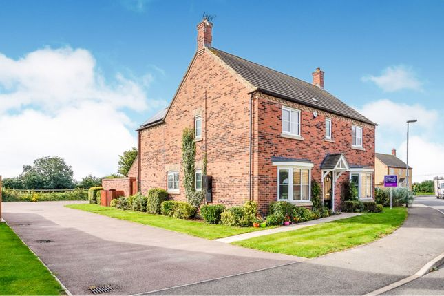 Thumbnail Detached house for sale in Hunts Field Drive, Gretton, Corby