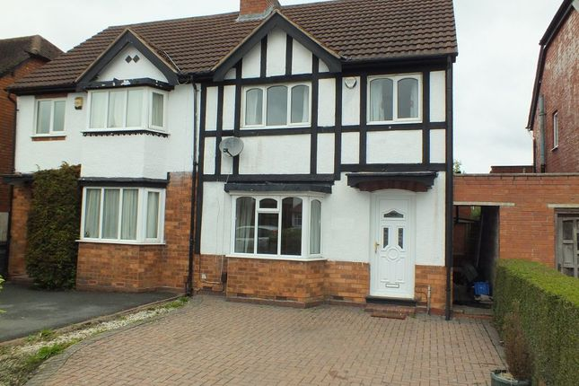 3 bed semi-detached house to rent in Hazeloak Road, Shirley, Solihull B90