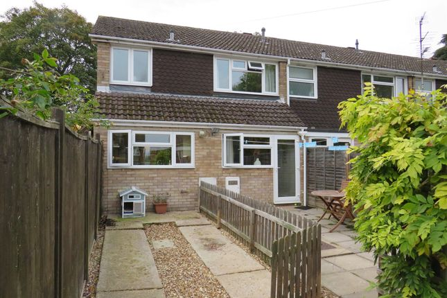 Thumbnail End terrace house for sale in Towns End Road, Sharnbrook, Bedford