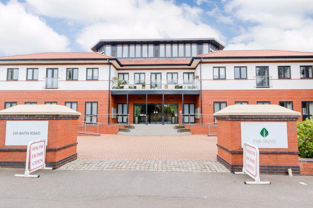 Thumbnail Flat to rent in The Grove, 150 Bath Road, Maidenhead