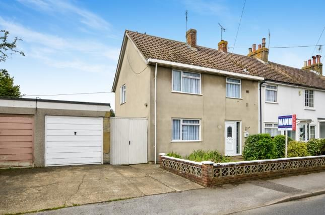 Thumbnail End terrace house for sale in Mead Road, Willesborough, Ashford, Kent