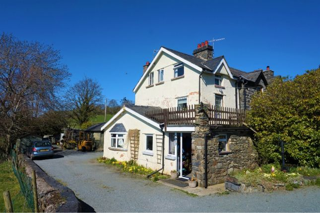 Thumbnail Semi-detached house for sale in Llanddoged, Llanrwst