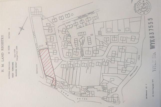Thumbnail Land for sale in Chapel Lane, Oakworth