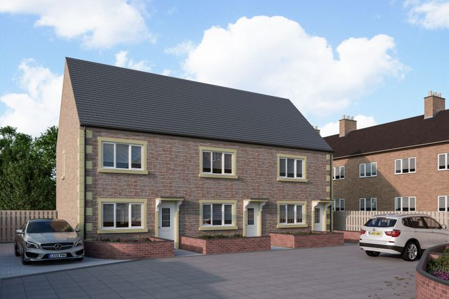 Thumbnail 2 bed town house for sale in Holland Court, High Street, Mansfield Woodhouse