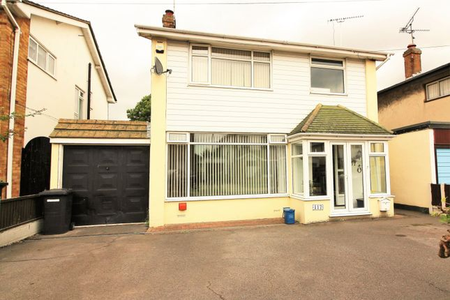 Thumbnail Detached house for sale in Ashurst Avenue, Southend-On-Sea