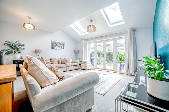 Living Room At of Willowbourne, Fleet GU51