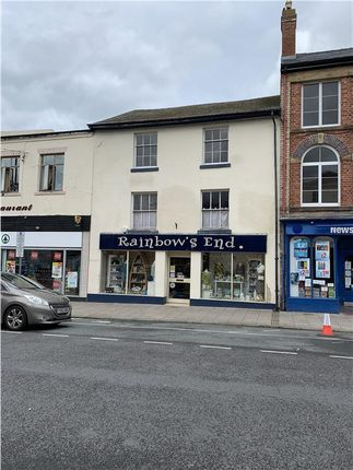Thumbnail Retail premises for sale in Rainbows End, 42 Broad Street, Newtown, Powys