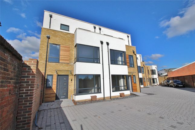 Thumbnail End terrace house for sale in Rectory Gardens, Broadwater, Worthing, West Sussex