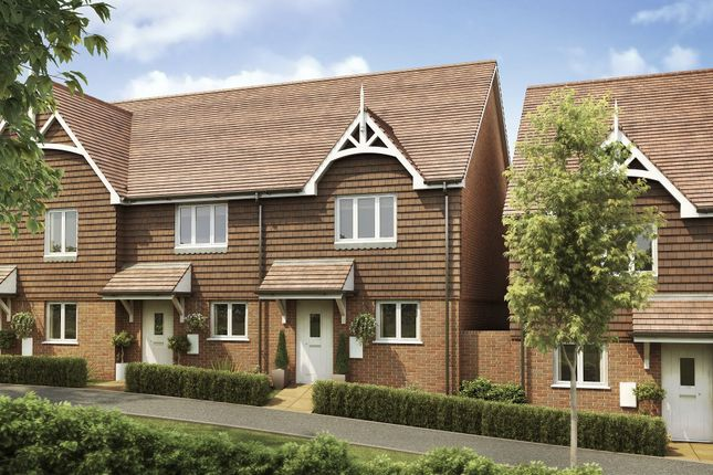"Thumbnail End terrace house for sale in ""Tamar"" at Langmore Lane, Lindfield, Haywards Heath"