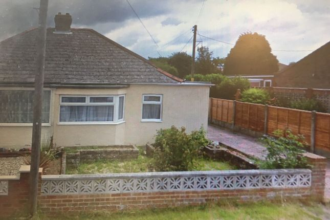 Thumbnail Bungalow for sale in Victoria Road, Capel-Le-Ferne, Folkestone