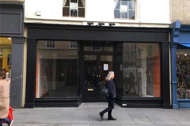 Thumbnail Retail premises to let in Sole Trader, 9, Stall Street, Bath, Blank